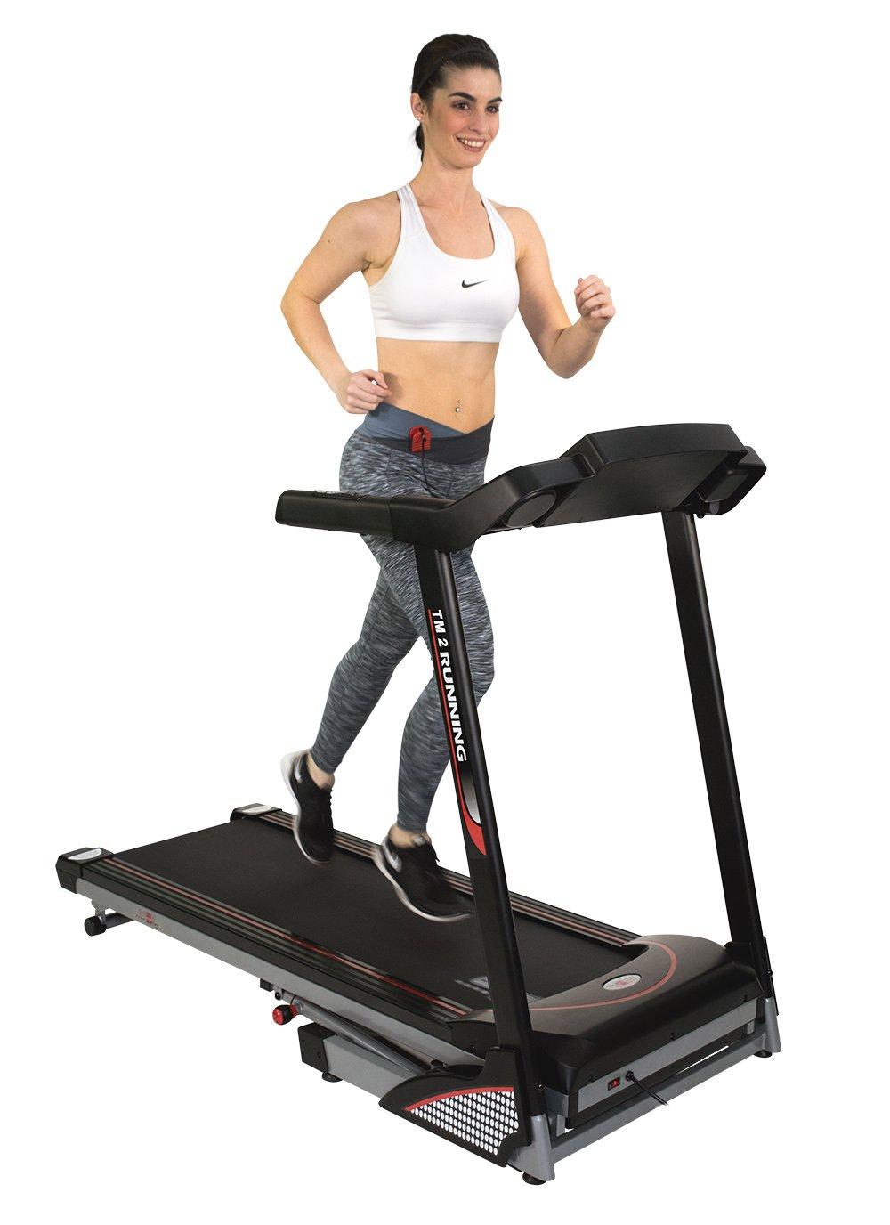 Christopeit eléctrico Cinta de Correr TM 2 de Luxe hasta 120 kg ...