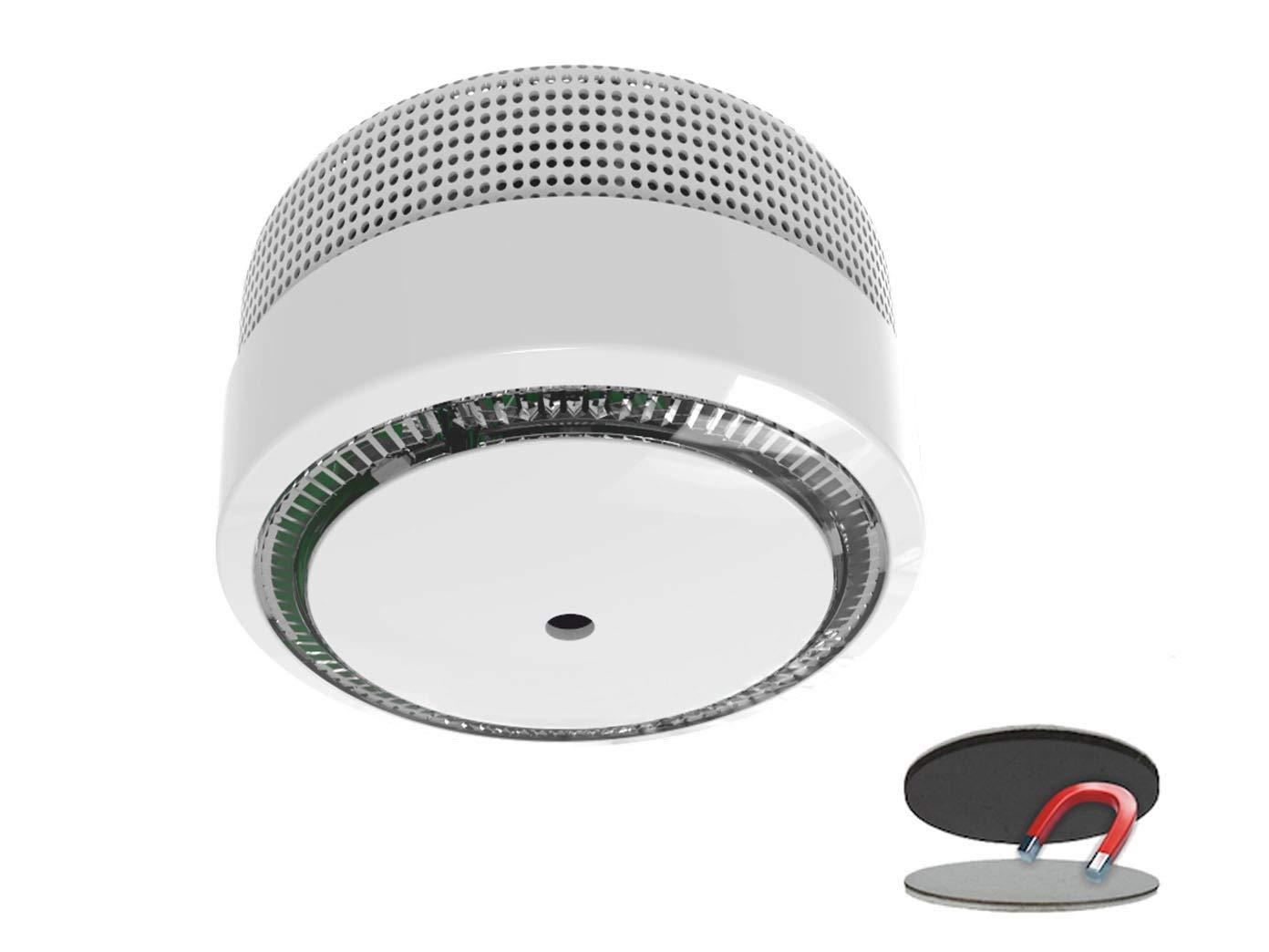 Mini detector de humo, 10 años de garantía y de batería/VDS Certificado y DIN EN14604, con práctica Easy & Clean magnético montaje: Amazon.es: Bricolaje y ...