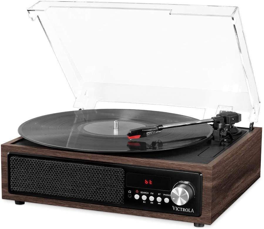 Victrola 3 en 1 Tocadiscos Vinilo Bluetooth: Amazon.es ...