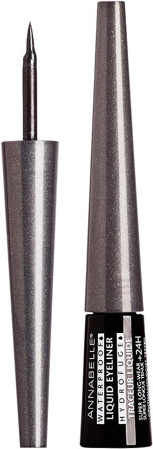 Annabelle Waterproof Liquid Eyeliner, Black Star, 0.1 fl oz