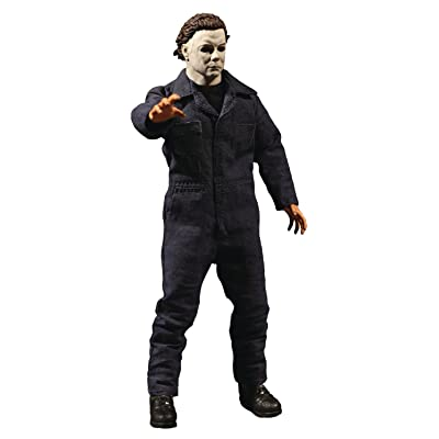 Mezco Toys One: 12 Collective: Halloween Michael Myers Action Figure: Toys & Games