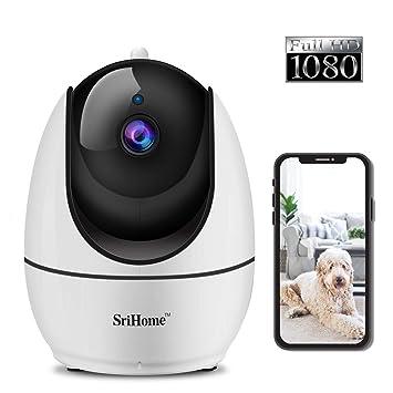 Indoor Wireless Srihome SH026 1080P IP Camera IR Night Vision WiFi Security Cam