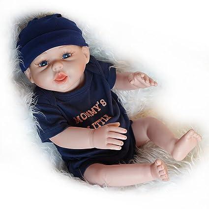 bf93289d8d5d Amazon.com  UCanaan 20   Inch Realistic Newborn Baby Dolls Reborn ...