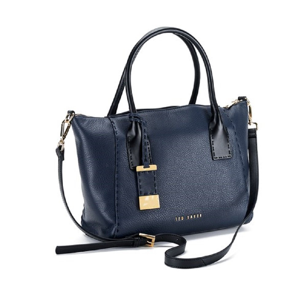 8b0d37f005b2 Amazon.com  Ted Baker Paige Casual Large Leather Tote ( Navy )  Shoes