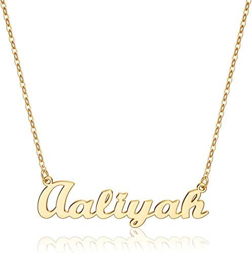 925 Sterling Silver PATRICIA Name Necklace Womens Girls Pendant Gift Ready Stock