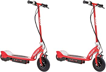2-Pack Razor E175 Motorized 24V Rechargeable Electric Power Kids Scooter
