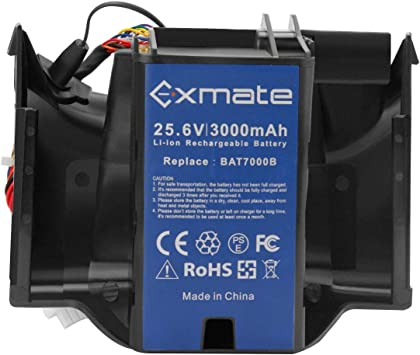 Exmate 25.6V 3.0Ah batería para cortacésped Robomow BAT7000B, batería de ión Litio: Amazon.es: Bricolaje y herramientas
