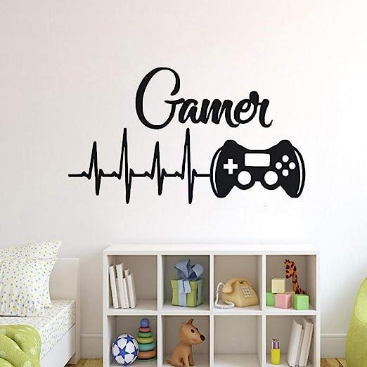 Controladores de Juegos Etiqueta de la Pared para la habitación de ...