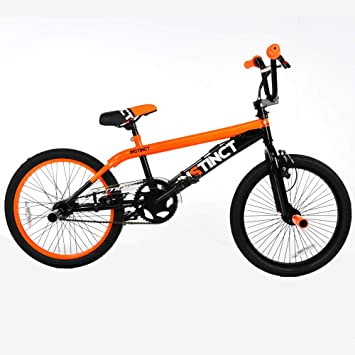 MBM Instinct 20 BMX Freestyle Color Negro y Naranja