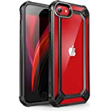 SUPCASE [Unicorn Beetle EXO Series] Case for iPhone SE 2nd generation (2020) , Premium Hybrid Protective Clear Bumper Case fo