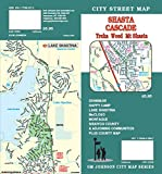 Shasta / Cascade CA Street Map