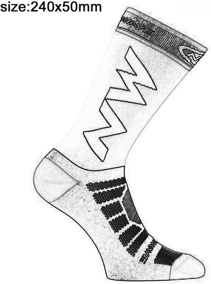 Ciclismo Correr Leoboone Calcetines Largos Transpirables de compresi/ón para Hombre Baloncesto Calcetines c/álidos de f/útbol Antideslizantes Deportes Escalada