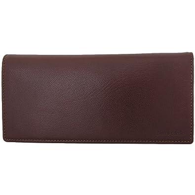 sale retailer 0cec8 1617d Amazon | pierre cardin(ピエールカルダン) 長財布 ブラウン ...