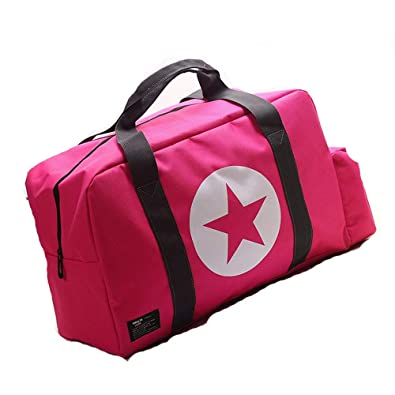 Amazon.com: New Portable Women Luggage Travel Bags Big Star ...