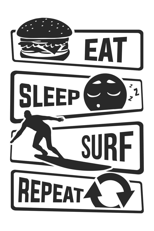 surf repeat \u00ab Breakfast boards\u00bb Eat sleep