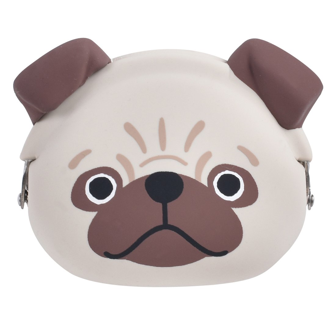 p+g design Mimi Pochi Friends Coque en Silicone Porte-Monnaie Small Carlin