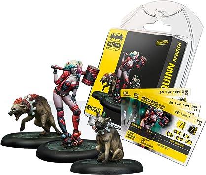 Knight Models Juego de Mesa - Miniaturas Resina DC Comics Superheroe - Batman - Harley Quinn Rebirth: Amazon.es: Juguetes y juegos