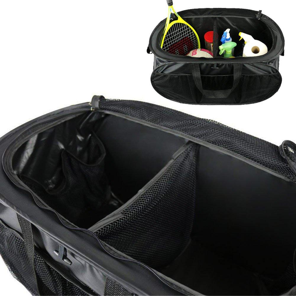 The Elixir Deco Set of 3 6 Pockets in//Outside Car Trunk Storage Bag Cargo Case Multipurpose Foldable Case