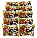 Instant Chand Noodle Soup, 1.94 Oz. Packets (Set of 10) (Beef (Pho Bo))