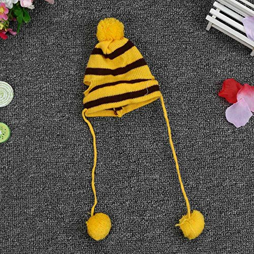 6Pc/Set Dog Pet Puppy Hat Scarf Leg Warmer Pet Clothes Neckerchief Autumn Winter Dog Cat Scarf Collar Pet Scarf Teddy Poodle Scarf Bichon Scarf Dog Bibs Dog Bandana Scarf (Yellow, S) by succeedtop (Image #3)