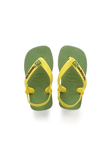 98f11063b9b4 Havaianas Unisex Babies  Brasil Logo Ii Sandals