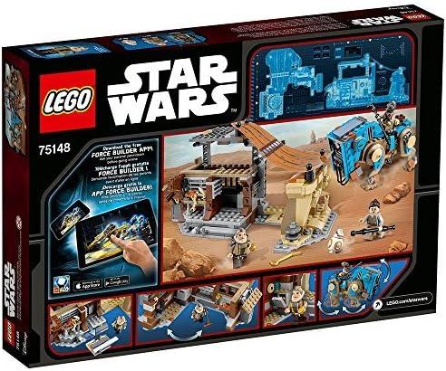 Lego 75148 Star Wars Encounter on Jakku con rey teedo unkar plutt bb-8 n16//8
