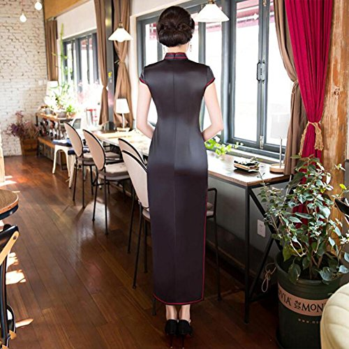 Cheongsam È Della Cinese L Sposa Da Qixpao Retro Vestito Lungo Cerimonia Nuziale Stile Il Fnqq6zS0