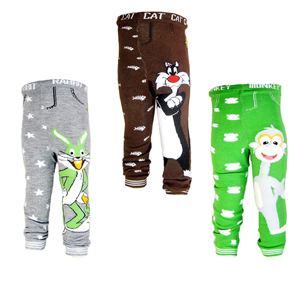 3 backbuy hose 0-24 monate baby Jungen kleinkind leggings hosen hose PD4D5E2