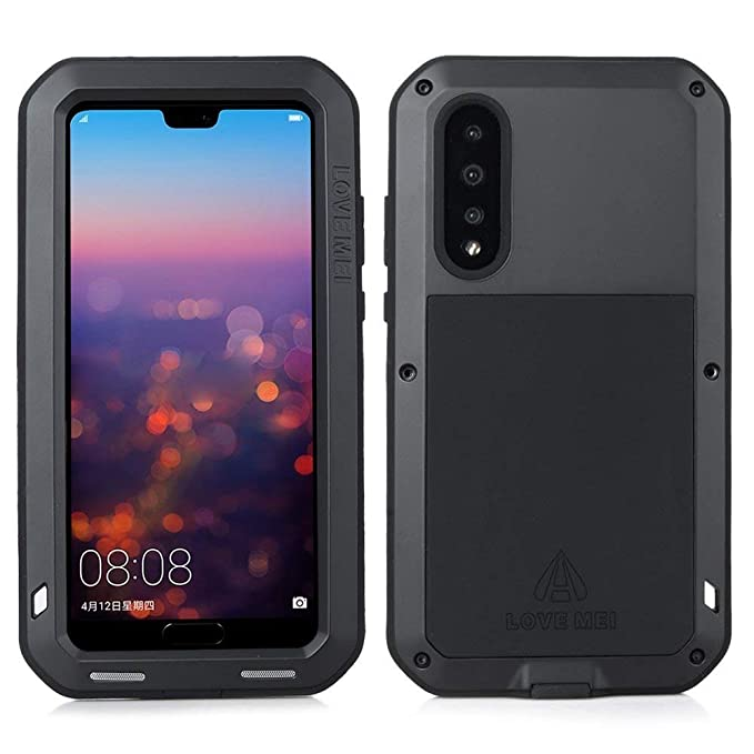 best authentic e0679 65b87 Amazon.com: Huawei P20 Pro Metal Case,HuiFlying Armor Tank Aluminum ...