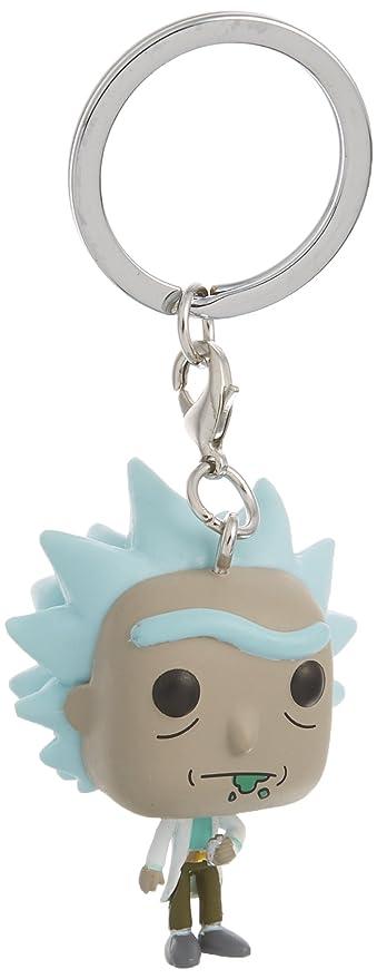 Funko Pop Keychain: Rick and Morty - Rick Toy Figure