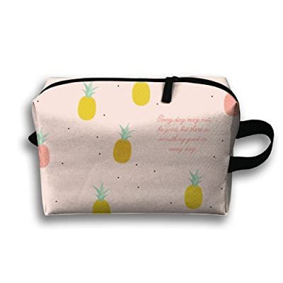 Yiot Cute Pineapple Travel Toiletry Organizer Bag