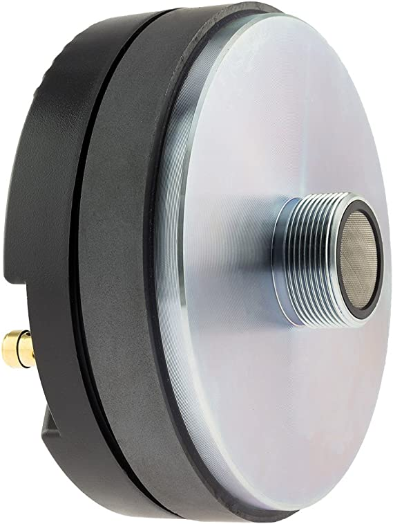 """2 Pack 6/"""" Inch Compression Driver with Aluminum Horn 8 Ohm 400W Max Drivers"""
