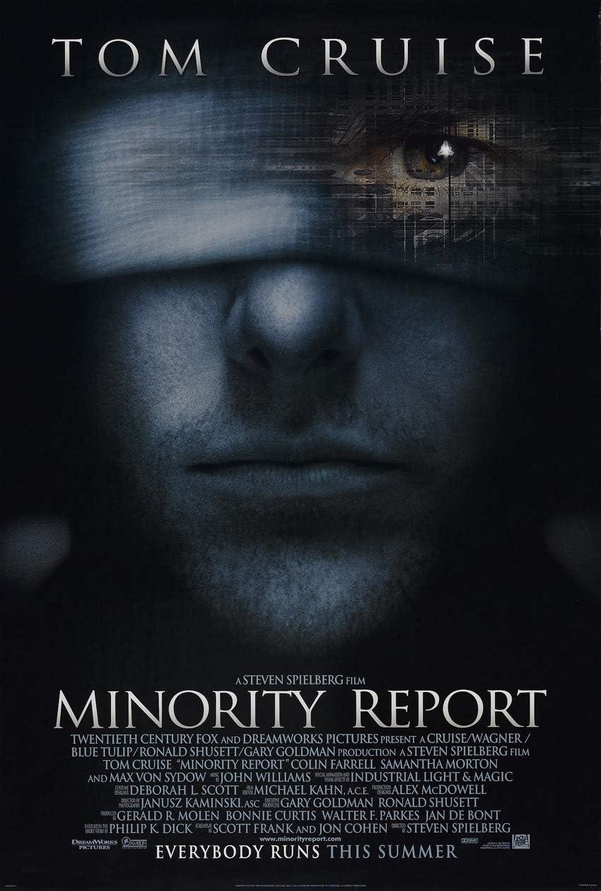 Amazon.com: MINORITY REPORT MOVIE POSTER 2 Sided ORIGINAL Advance ...