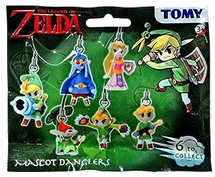 Amazon.com: The Legend of Zelda Blind Bag Mascot Danglers ...