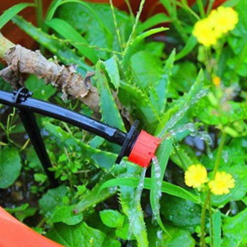 ETbotu 25M Gardening Accessories Micro Drip Irrigation System Automatic Timer Self Plant Watering by ETbotu (Image #7)