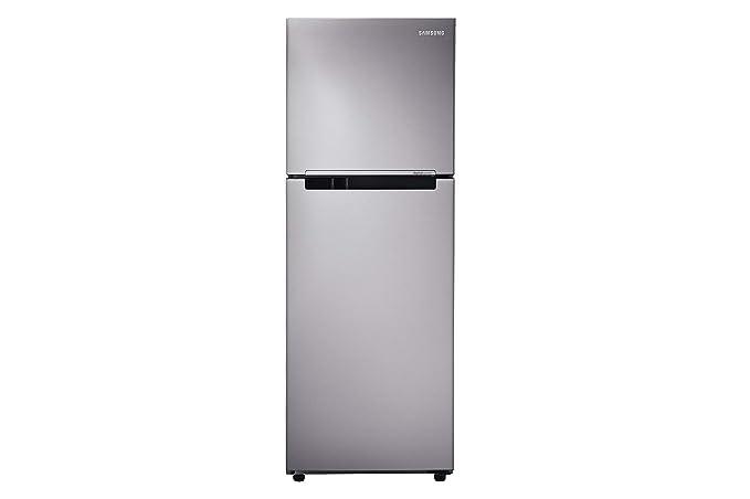 Samsung 251 L 2 Star Frost Free Double Door Refrigerator(RT28K3082S8/HL, Silver, Inverter Compressor)