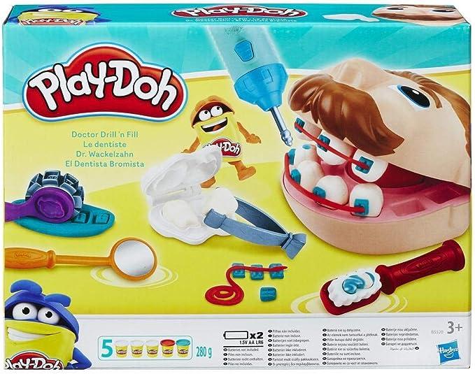 Play-Doh - Dentista Bromista (Hasbro 37366148): Amazon.es: Juguetes y juegos