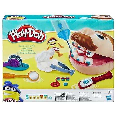 daff3bb2c9 Hasbro Rocco Giocattoli 37366148 - Play Doh Dottor Trapanino  Amazon ...