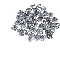 POPETPOP 50 piezas de acero inoxidable t-nuts
