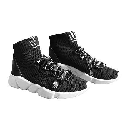 Delicacydex 2017 Otoño Zapatillas de Deporte Hombre Mujer Calcetines Deportivos en Forma de calcetín Zapatillas Ligeras