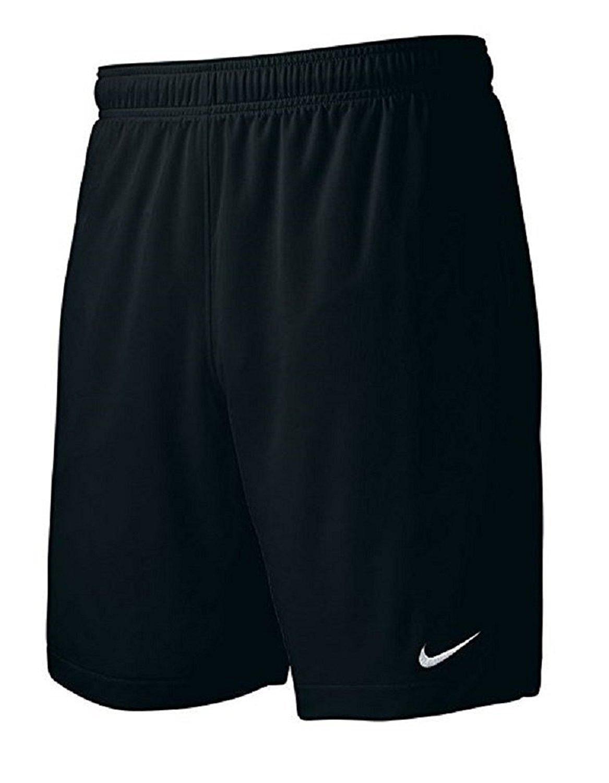 ナイキメンズチームEqualizer Soccer Shorts B00SLSS2VW Small|ブラック ブラック Small