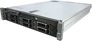 Dell PowerEdge R710 2 x 2.26Ghz E5520 Quad Core 12GB 1x 160GB 2PSU (Renewed)