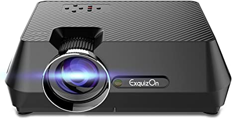 Exquizon gt-s9 Mini LCD LED proyector multimedia portátil 1600 ...