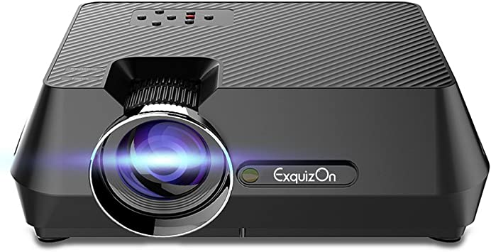 Exquizon gt-s9 Mini LCD LED proyector multimedia portátil 1600 ...
