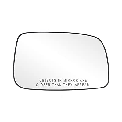Fit System 80205 Toyota Camry Sedan Right Side Power Replacement Mirror Glass with Backing Plate: Automotive