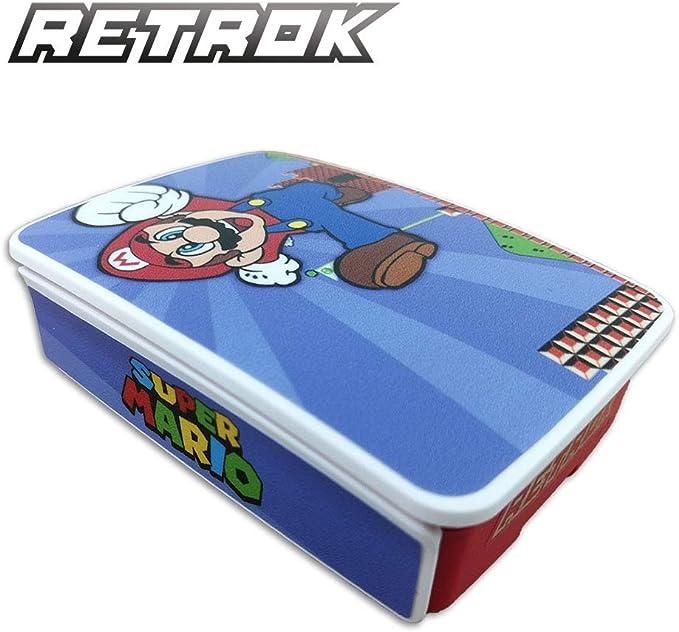 RetroK Case Raspberry + Set de pegatinas + Disipadores PI3/PI4 - Mario Bros Raspberry Pi3: Amazon.es: Informática