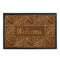 gbHome GH-6764B Premium Quality Door Mat | 24 x 36 inches | Indoor \ Outdoor Doormat with Anti-Skid Rubber Back | Water Absorbent, Stain Resistant, Quick Drying, Easy to Clean, Low Profile Entry Mat