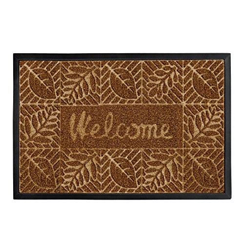 - gbHome GH-6764A Premium Quality Indoor Mat | 18 x 30 inches | Interior Doormat with Anti-Skid Rubber Back | Water Absorbent, Stain Resistant, Quick Drying, Easy to Clean, Low Profile Door Mat