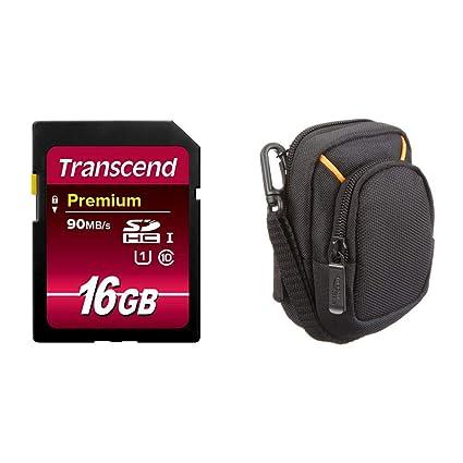 Transcend Premium - Tarjeta de Memoria SDHC 16GB UHS-I Clase 10 de ...