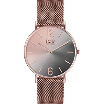 Amazoncom Ice Watch Ic016026 Ice Sunset Watch Woman Black